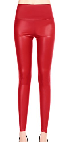 Red Leather Pants - 5