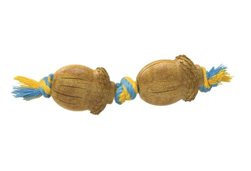 Petstages Dogwood Acorn Durable Real Wood Dog Chew Toy for Small Dogs, Mini Chew Toy