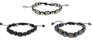 """12 Piece Wholesale Lot Fashion Jewelry """"SHAMBALLA"""" Style Bracelets 48b9668"""