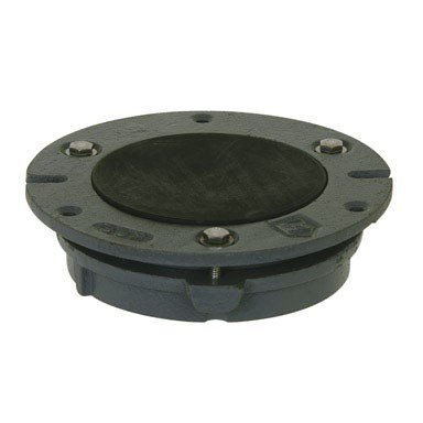 Sioux Chief 890 Series 4'' X 4'' Cast-Iron Closet Flange (Part 890-i42) by Sioux Chief