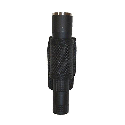 Stallion Leather Half Streamlight Flashlight Holder, High Gloss Black -