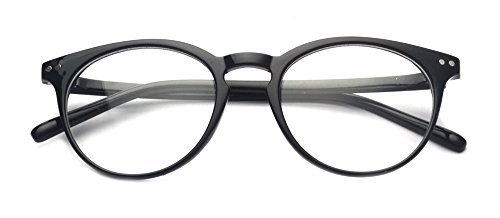 Outray Vintage Inspired Small Nails Round Clear Lens Glasses