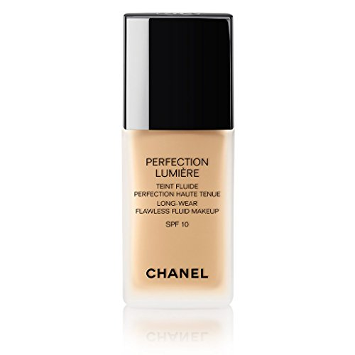 Lumiere Compact (Chanel Perfection Lumiere Long Wear Flawless Fluid Makeup 30ml. #40 Beige)