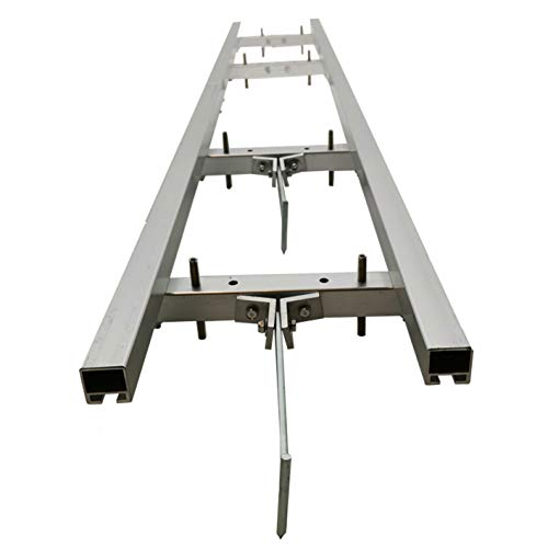 Rail Mill Guide System 5 FT Set Works with Chainsaw Mills Used in Combination with The Saw Mill