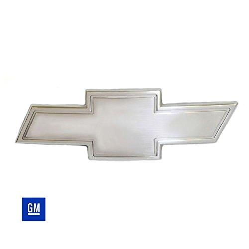 All Sales 96048C Grille Emblem Chrome Chevrolet Bow-Tie w/Border Grille Emblem