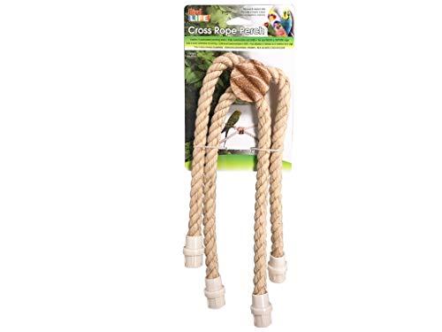 (Penn Plax Cross Rope Perch)