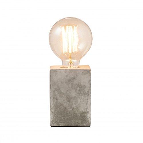 concrete table lamp. Mintage Concrete Table Lamp Square