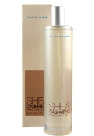 True Blue Spa Shea Cashmere Fragrance Mist 3.4 Fl Oz