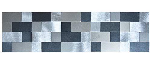 tick Brushed Metal Border Tile Pencil Liner Tile, 15