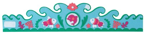 Mudpuppy Magical Mermaid Felt Crown Set by Mudpuppy