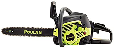 Morocca Poulan PL3314, 14 in. 33cc 2-Cycle Gas Chainsaw