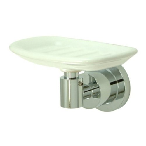 (Kingston Brass BA8215C Concord Soap Dish Holder, 5-1/8