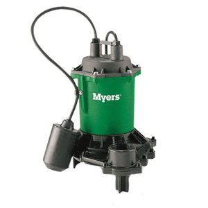 Myers ME40PC-1 Effluent Pump, 80 gpm, 1-1/2