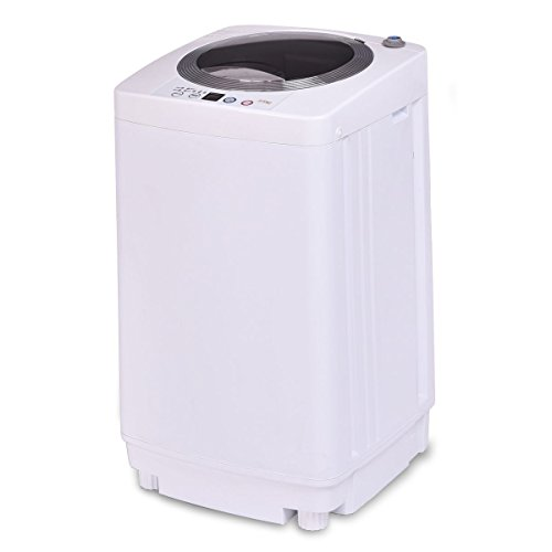 7.7 lbs Automatic Laundry Washing Machine by Apontus