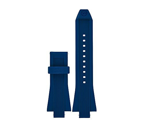 Michael Kors Access Dylan Navy Silicone Strap