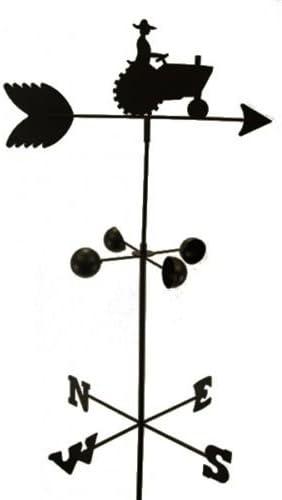 Asher Amada WEATHER VANE Eagle 5 Feet Tall Black Garden Mount Yard Decor