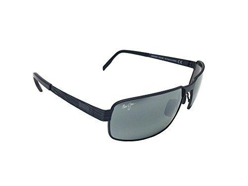 New Maui Jim Castaway 187-02M Gunmetal Black/ Neutral Grey Polarized Sunglasses by Maui Jim