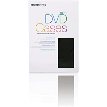 Memorex 2-Disc DVD Movie Cases - 10-Pack (Discontinued by Manufacturer)