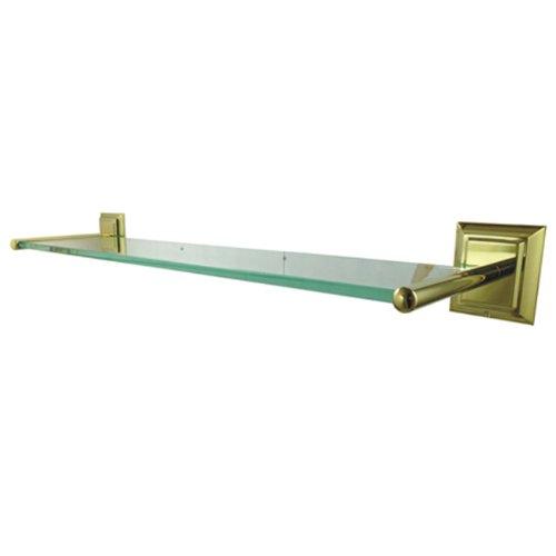 Kingston Brass Millennium Glass Shelf, 22.44