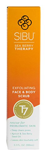 31wKHHCpSNL Sibu Sea Buckthorn Exfoliating Scrub, 3.3 Fluid Ounce