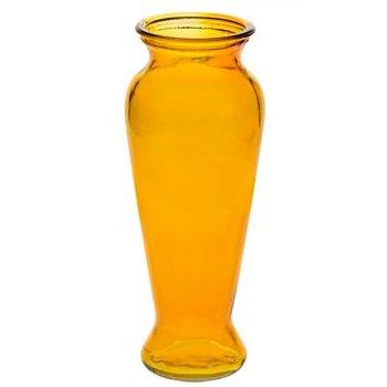 Contoured Elegance Colorful Vases (Amber)