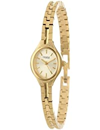 Women's 48J51 Bracelet Gilt Dial Watch