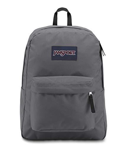 Bag School Backpack - JanSport Superbreak Backpack - Stylish School Bag   Deep Grey
