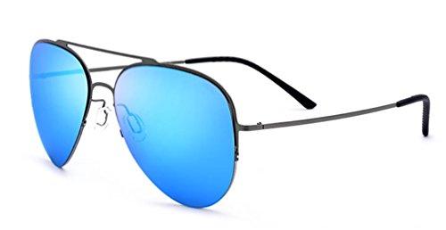 de de Mujeres Medio Conducción B Ligeras Gafas Las Titanio de Sol Marco de Gafas D Sol MOQJ de Aleación de de Gafas 6UIqx0xF