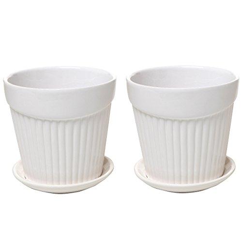 Indoor Ceramic Planters: Amazon.com