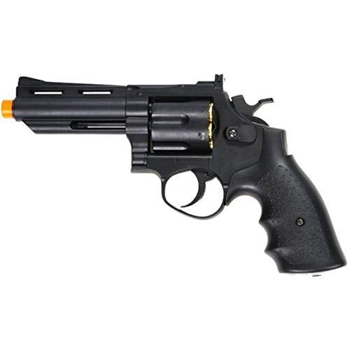 AirSoft 350 FPS HFC 357 Magnum Green Gas Metal Revolver Pistol Gun BB BBS Shells