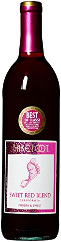 Barefoot Cellars California Sweet Red Blend Wine 750mL