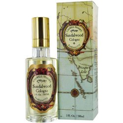 Caswell-Massey Gold Cap Sandalwood Cologne Spray - Sandalwood Fragrance For Men and Women, Made in USA - 3 Ounces