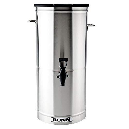 Bunn 34100.0001 TDO-5 5 Gallon Iced Tea Dispenser with Solid Plastic Lid - Tb3 Iced Bunn Tea