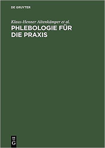 Book Phlebologie Fur Die Praxis (Auflage, 2) (German Edition)