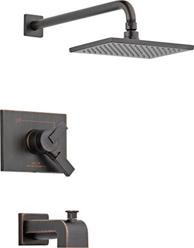 - Delta Faucet T17453-RB-WE Vero Monitor 17 Series Tub & Shower Trim, Venetian Bronze,