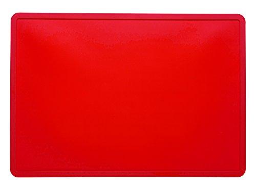 Sugarbooger Tabletop Splat Mat, Rich Red