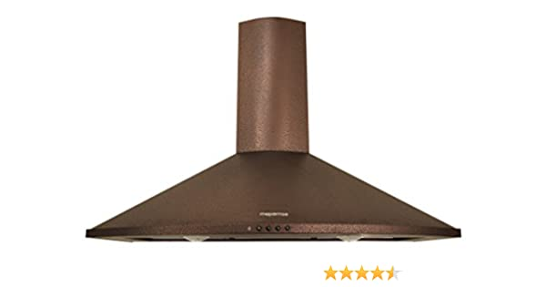 Mepamsa Tender H 70 V2 - Campana aspirante decorativa de pared, color cobre: 220.44: Amazon.es: Grandes electrodomésticos