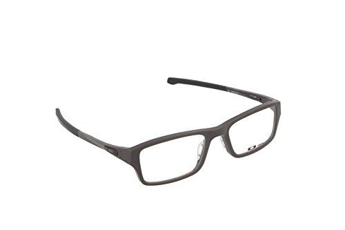 Oakley Chamfer OX8039-0253 Eyeglasses Satin Flint Clear Demo 53 18