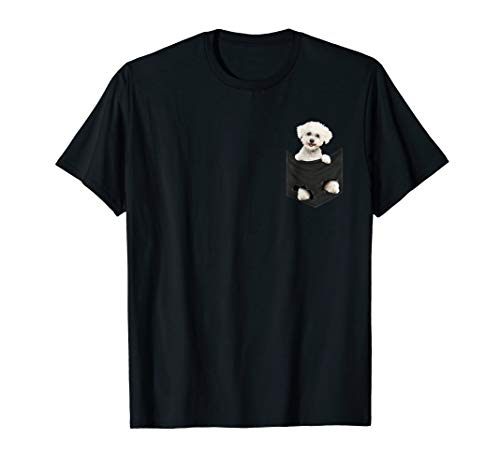 - Bichon Frise in your pocket T-shirt | Bichon frise gift