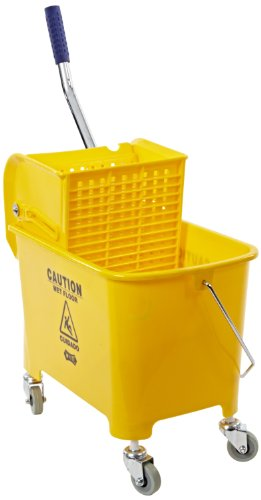 "Price comparison product image Impact 2Y / 2021-2Y Compact Mopping System Combo with 2"" Non-Marking Casters,  21 qt Capacity,  17-1 / 2"" Height x 10-1 / 2"" Width x 18"" Depth,  Yellow"