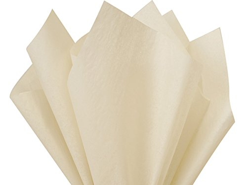 Oatmeal Tissue Paper 20x26'' 480 Sheet Ream (2 Reams) - WRAPS-CT2OM by Miller Supply Inc