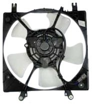 TYC 600320 Mitsubishi Eclipse Replacement Radiator Cooling Fan Assembly (Mitsubishi Eclipse Radiator Cooling Fan)