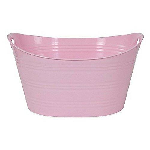 Creative Bath Storage Tub (Light Pink)