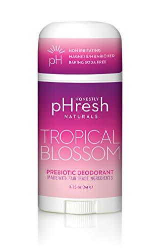 HONESTLY pHresh TROPICAL BLOSSOM prebiotic natural deodorant 2.25oz