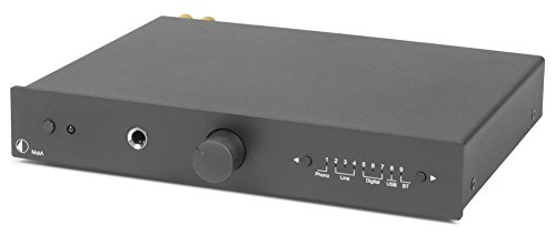 Pro-Ject MAIA-BLK All-In-One Audio Component Receiver Black by Pro-Ject