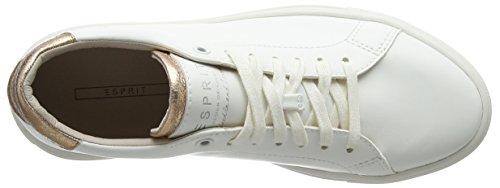 Esprit Dame Sandrine Snøre Sneakers Weiß (hvid 100) 5BsknK