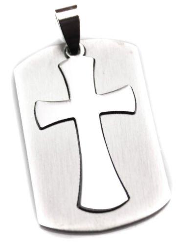 Christian etiqueta de perro de Cruz colgantes de cruces ...