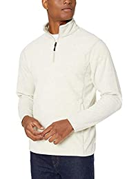 Men's Quarter-Zip Polar Fleece Jacket