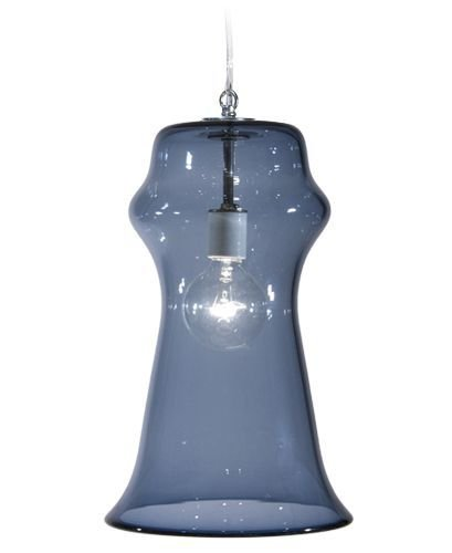 Tempo Luxury Home Vesuvius Collection Orpheus Pendant, Large, Steel Blue
