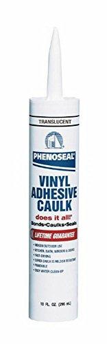 Dap 00006 6 Pack Translucent Phenoseal Does It All Vinyl Adhesive Caulk 10-Ounce